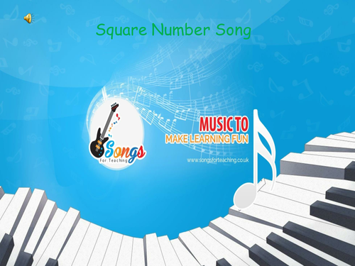 KS2 Maths - Square Number Song