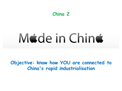 """China 2: """"MADE IN CHINA"""""""