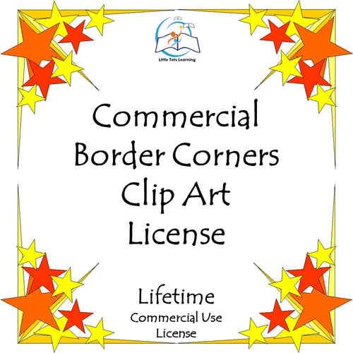 Border Corner Clip Art BUNDLE - Commercial {LIFETIME LICENSE} - 751 PNG Images