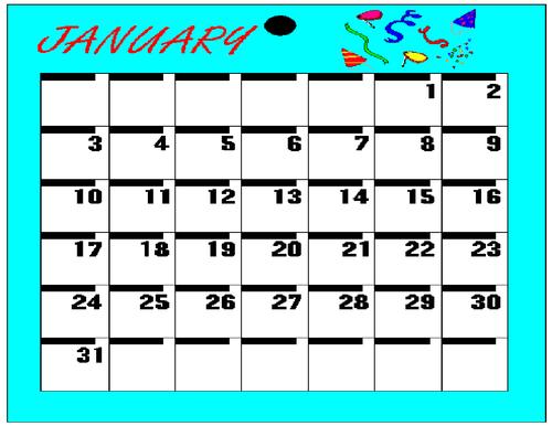Calendars Clip Art Bundle