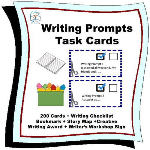 Writing - Writing Prompt Task Cards