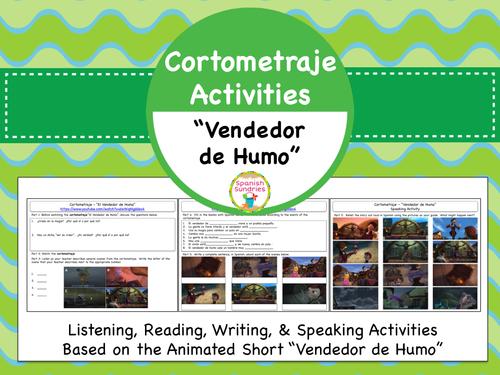 Cortometraje Activities:  Vendedor de Humo