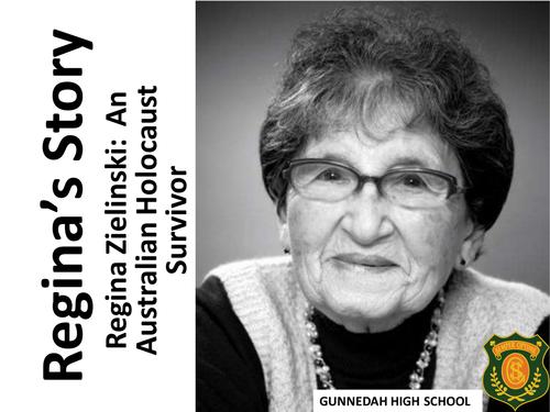 Regina Zielinski - An Australian Holocaust Survivor