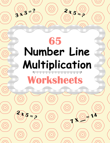 number line multiplication worksheets by bios  teaching  number line multiplication worksheets by bios  teaching resources  tes