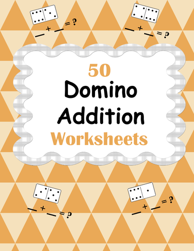domino addition worksheets by bios444 teaching resources tes. Black Bedroom Furniture Sets. Home Design Ideas