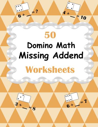 Counting Number worksheets : subtraction dominoes worksheet ...