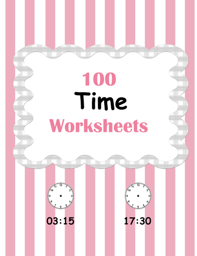 Time Worksheets Bundle by bios444 - Teaching Resources - TES