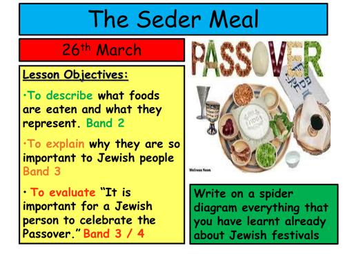 Jewish Seder Meal