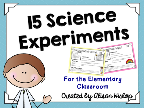 15 Great Science Experiments