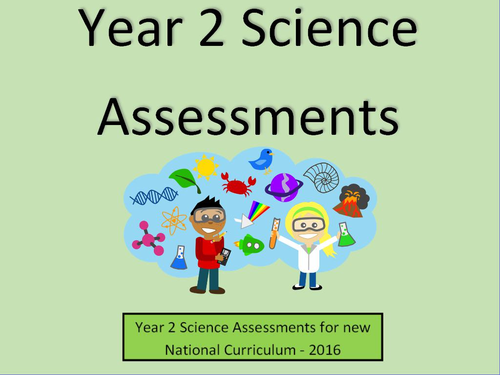 Year 2 Science Assessments and Tracking Without Levels