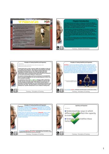 GCSE Revision - Training
