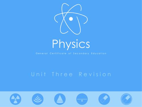 Nubila Education | GCSE Physics | Unit Three Revision Notes