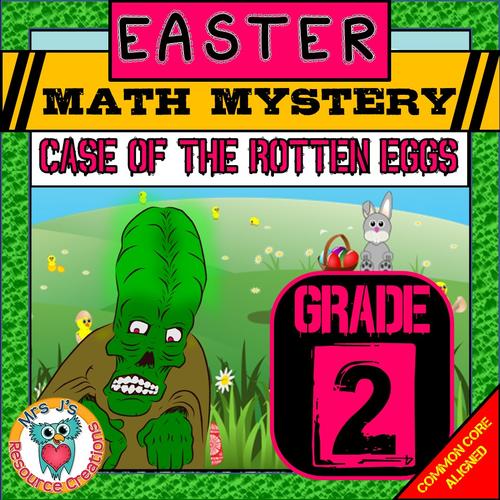 Easter Math (GRADE 2)