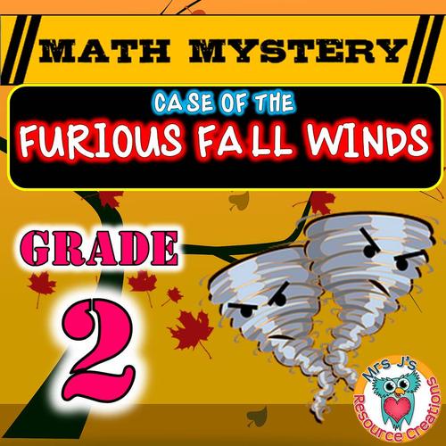 Fall Math Mystery (GRADE 2)