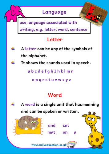 Grammar Pack for Reception Classes