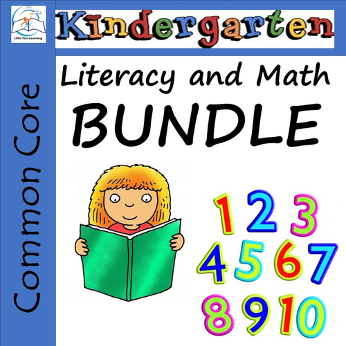 Kindergarten Morning Work BUNDLE - Literacy and Math