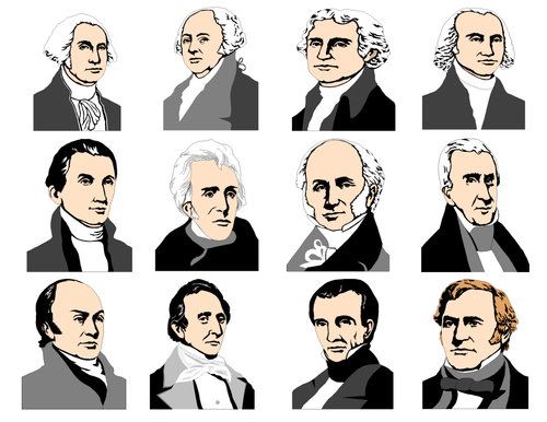 United States Presidents Clip Art