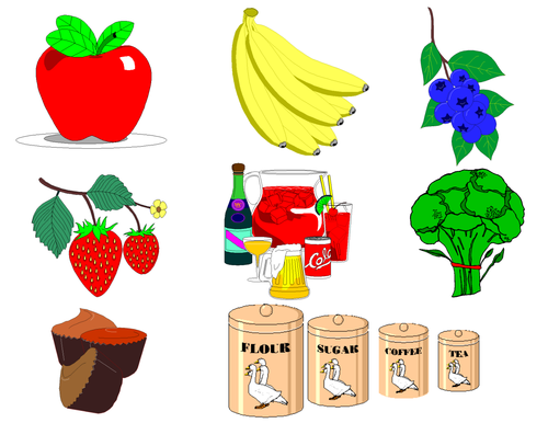Food Clip Art  (Food Groups Clip Art)