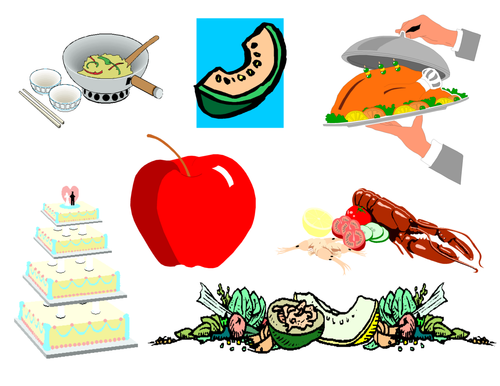 Food Clip Art Mega Bundle 4 (Food Groups Clip Art)