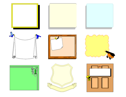 Border and Frames Clipart