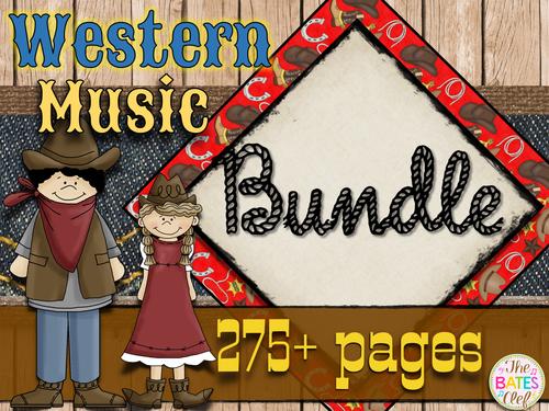 Western Music Decor Bundle