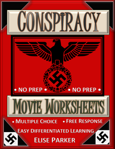 Conspiracy: Movie Worksheets (Wannsee Conference Movie Worksheets) -- PDF Version