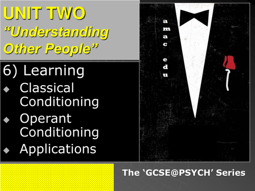 understanding the classical conditioning and operant conditioning