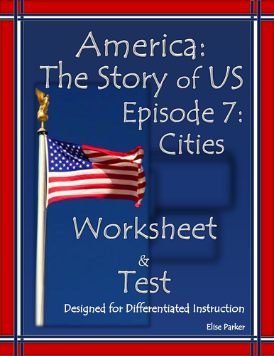 America the Story of US Episode 7 Quiz and Worksheet: Cities by ...