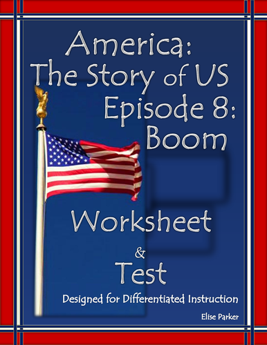 America the Story of US Episode 8 Quiz and Worksheet: Boom
