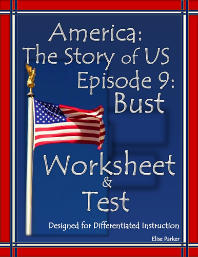 America The Story Of Us Episode 9 Quiz And Worksheet Bust By