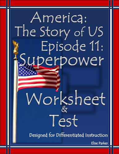 America the Story of US Episode 11 Quiz and Worksheet: Superpower