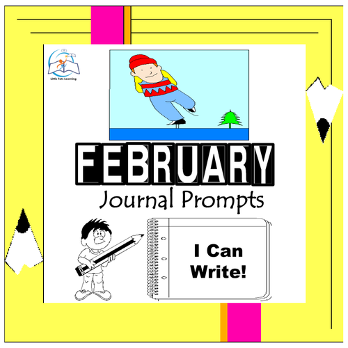 February Writing Prompts | February Journal Prompts