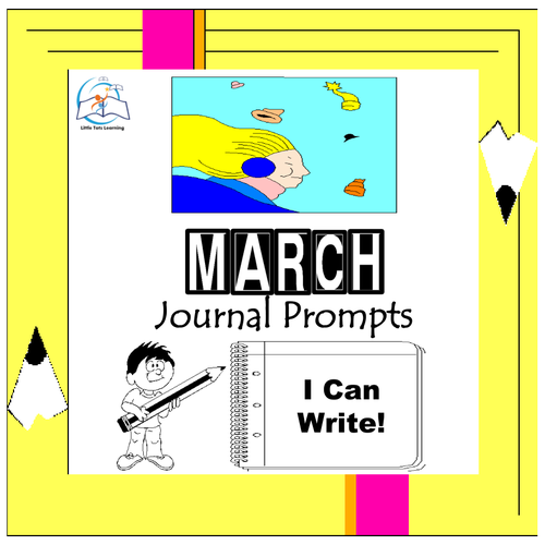 March Writing Prompts | March Journal Prompts