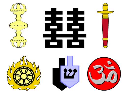 World Religions Clip Art
