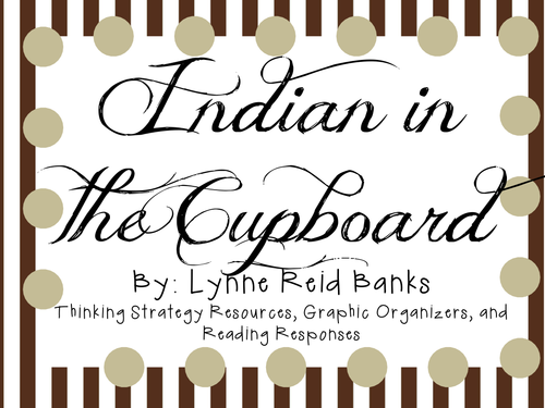 Indian In The Cupboard By Lynne Reid Banks Character Plot And Setting Teaching Resources