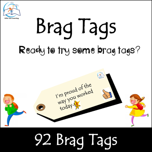 Growth Mindset Brag Tags: Incentives for Academic Goals