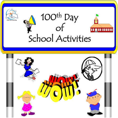 100th Day of School Activities (100 Days of School)