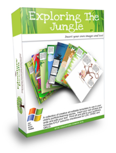 Exploring the Jungle Activity Pack