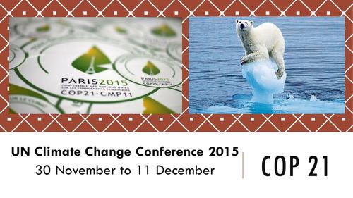 UN Climate Change - COP21 - Paris 2015