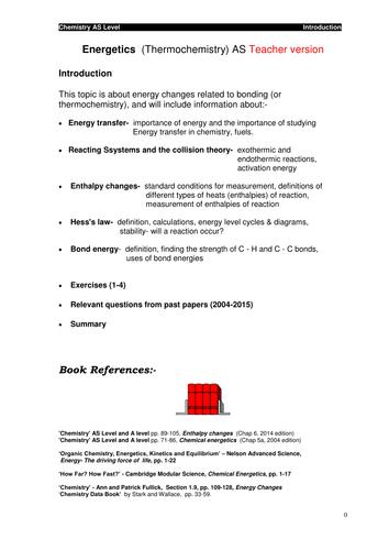 Energetics (AS)