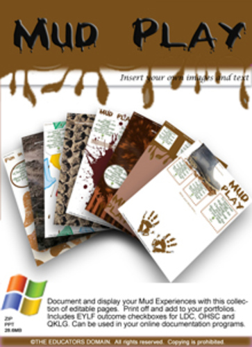 Mud Play Editable Pack