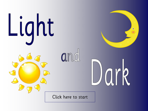 Light And Dark Topic Pack By Jessplex Teaching Resources Tes