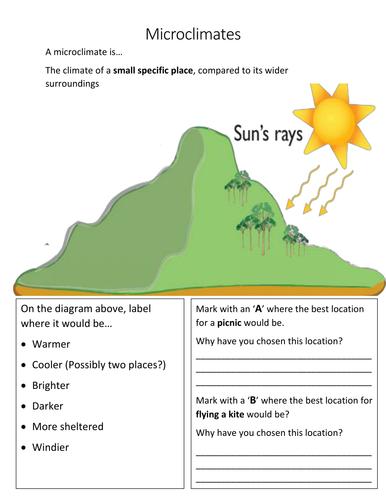 Geography Fieldwork - Microclimates