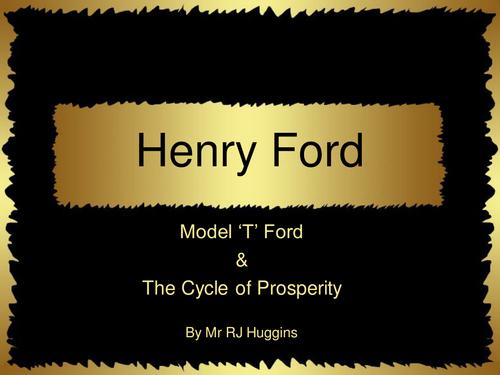 henry ford presentation