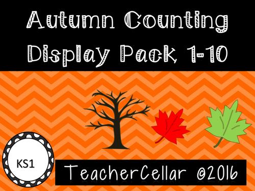 Autumn Display Pack Numbers 1-10