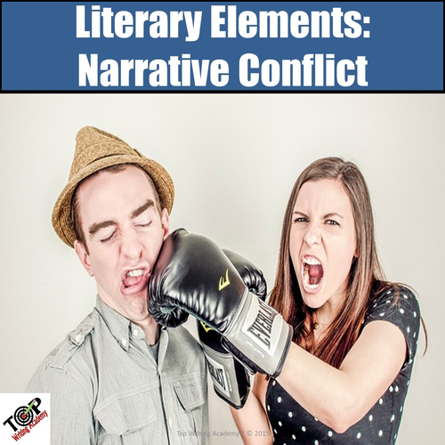 Literary Elements Analysis Narrative Conflict