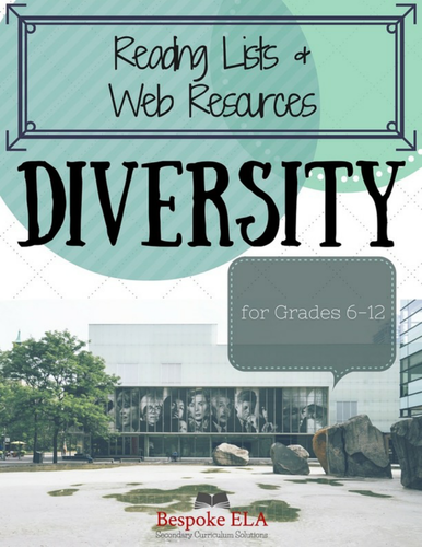 Secondary Reading Lists for DIVERSITY, MULTICULTURAL AWARENESS, INCLUSION