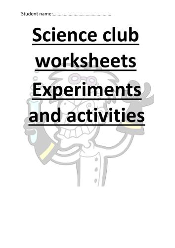 Science club fun