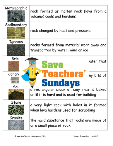 types of rocks ks2 lesson plan mind map and worksheet by saveteacherssundays teaching resources. Black Bedroom Furniture Sets. Home Design Ideas