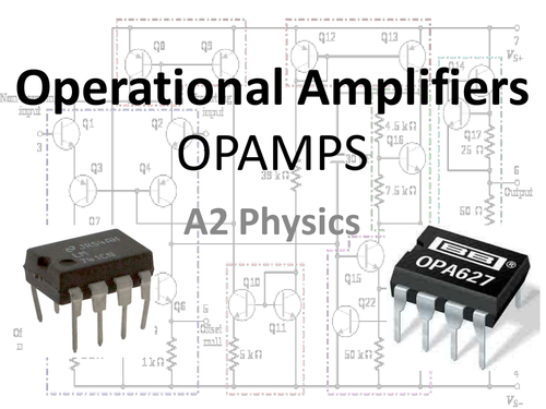 A Level Physics Operational Amplifiers Opamps